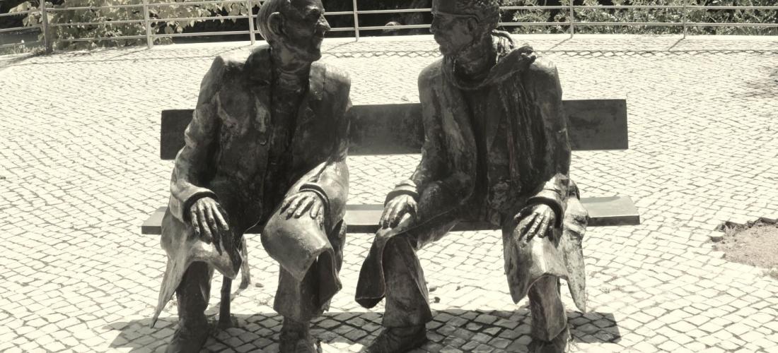 Statue of the debate of men in Tomar © Marko Manninen