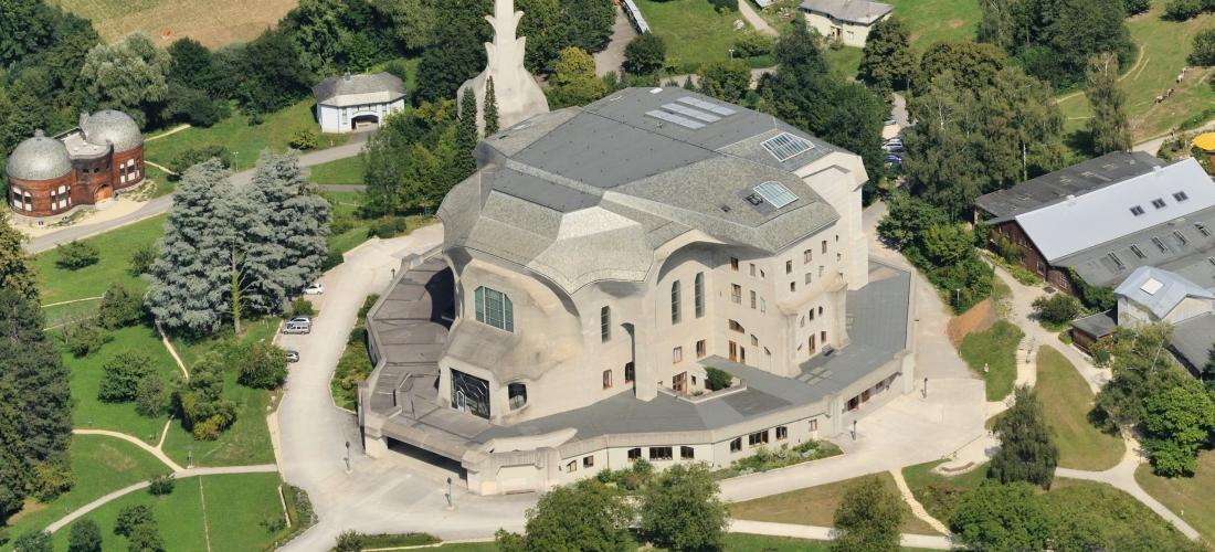 Ilmakuva Goetheanumista
