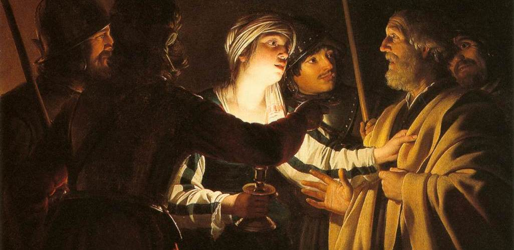 Gerard van Honthorst - The Denial of St Peter, 1592–1656